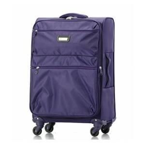 lila bőrönd közepes