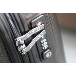 New Carat Szett bőrönd navy brushed