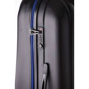 Rocky Szett bőrönd black indigo