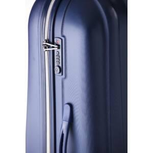 Rocky Közepes bőrönd dark lake silver