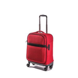 kabin piros bőrönd