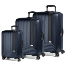 Beau Monde Szett Bőrönd Kék