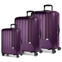 Beau Monde Szett Bőrönd Lila