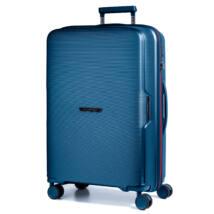 Bel Air Törhetetlen Nagy Bőrönd Kék (vízhatlan zip)
