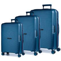 Bel Air Törhetetlen Szett Bőrönd Kék (vízhatlan zip)