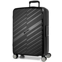 Bon Voyage Törhetetlen (cipzár nélküli) Nagy Bőrönd Fekete