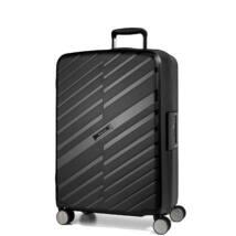 Bon Voyage Törhetetlen (cipzár nélküli) Közepes Bőrönd Fekete