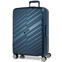 Bon Voyage Törhetetlen (cipzár nélküli) Nagy Bőrönd Kék