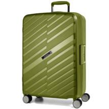Bon Voyage Törhetetlen (cipzár nélküli) Nagy Bőrönd Zöld