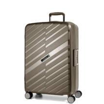 Bon Voyage Törhetetlen (cipzár nélküli) Közepes Bőrönd Bronz