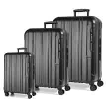 Cosmopolitan Szett bőrönd Black Alu
