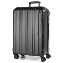 Cosmopolitan Nagy bőrönd Black Alu