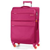 Elle Bővíthető Könnyű Bőrönd Nagy Pink