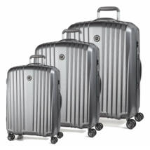 Everest Könnyű Szett Bőrönd Ezüst