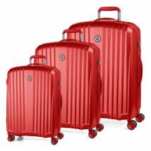 Everest Könnyű Szett Bőrönd Piros
