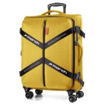Exploration Vászon Bőrönd Nagy Aranysárga
