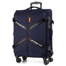 Exploration Vászon Bőrönd Nagy Kék