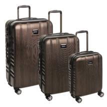 Fly Szett bőrönd bronze brushed
