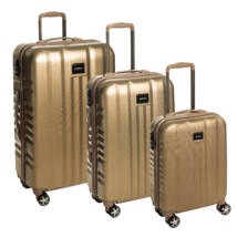 Fly Szett bőrönd gold brushed