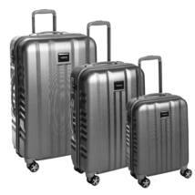 Fly Szett bőrönd silver brushed
