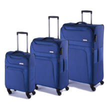 Focus Szett bőrönd kék