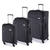 Focus Szett bőrönd Fekete