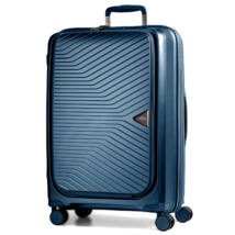 Új Gotthard Előzsebes Bővíthető Törhetetlen Nagy Bőrönd Orion Blue