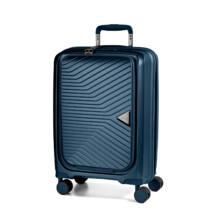 Gotthard Törhetetlen Kabin Bőrönd Orion Blue (Laptoptartós)