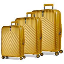 Lotus Szett bőrönd sárga