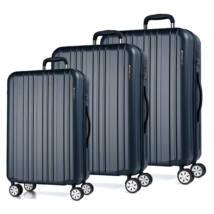 Omega Szett Bőrönd Kék