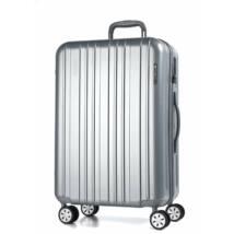 Omega Közepes Bőrönd Ezüst
