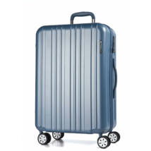 Omega Közepes Bőrönd Világos Kék