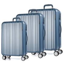 Omega Szett Bőrönd Világos Kék