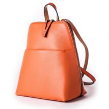 RedBag - Vigo - bőr kicsi hátitáska narancs
