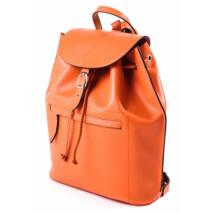 RedBag - Toledo - Klasszikus Bőr Hátitáska Narancs