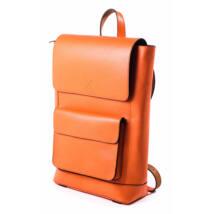 RedBag - Leon - Nagy Bőr Hátitáska Narancs