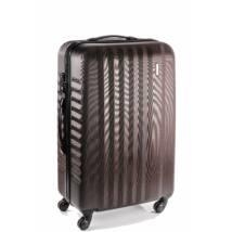 Ribbon Közepes bőrönd bronze brushed