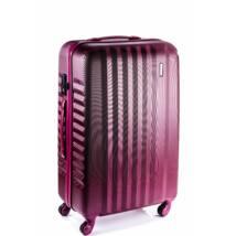 Ribbon Közepes bőrönd burgundy brushed