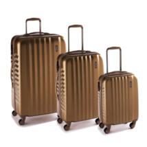 Ribbon Szett bőrönd gold brushed