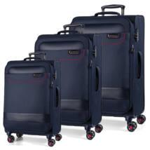 Tourer Vászon Bőrönd Szett Kék