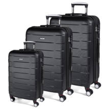 Bumper bőrönd black szett