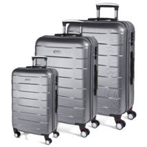 Bumper Szett bőrönd silver