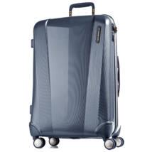 Vision Prémium Nagy Bőrönd Metál Kék