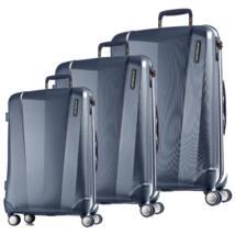 Vision Prémium Szett Bőrönd Metál Kék