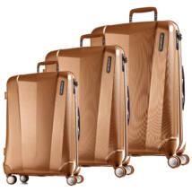 Vision Prémium Szett Bőrönd Metal Copper
