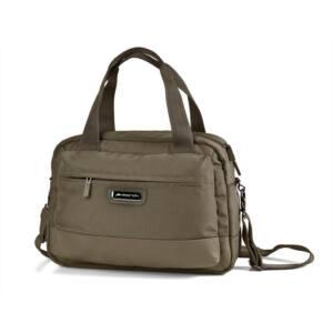 Stowaway, bronz kézifogós, laptoptartós táska