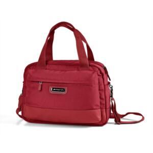 Stowaway, piros kézifogós, laptoptartós táska