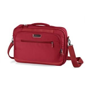Takeaway, piros laptoptartós táska/hátizsák