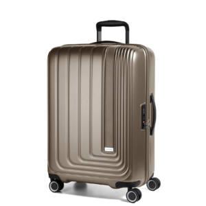 Beau Monde Közepes Bőrönd Bronze