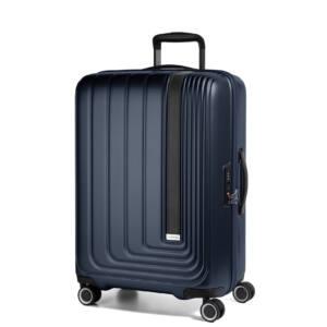 Beau Monde Közepes Bőrönd Kék